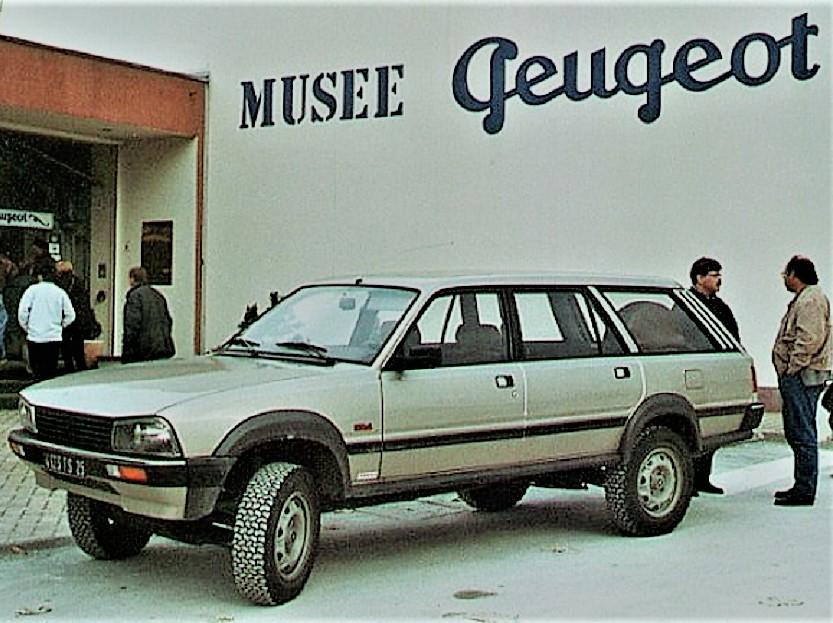 Dangel e Peugeot Un esemplare è presente presso il Museo della casa francese.