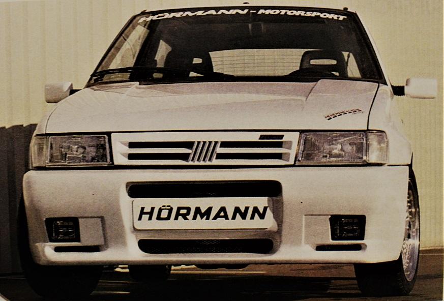 HORMANN Uno Turbo i.e, L'auto presentata dal preparatore tedesco al Motor Show di Essen.