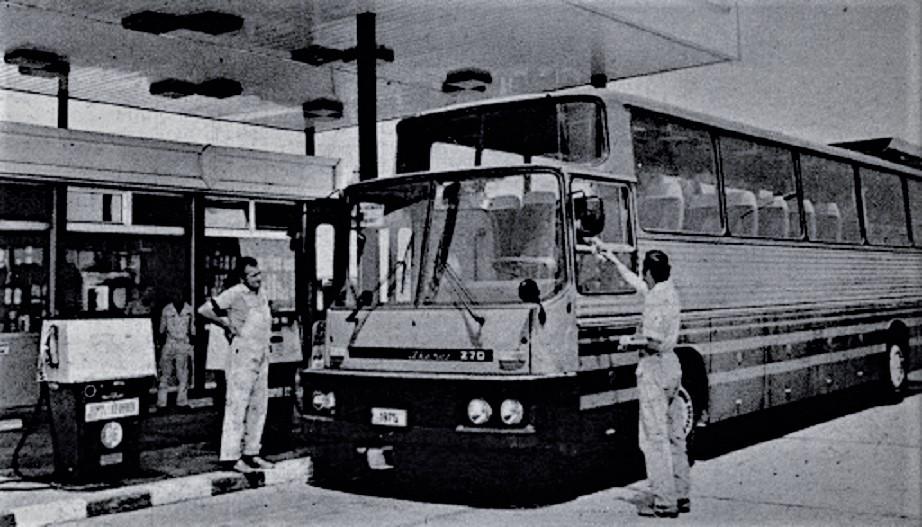Ikarus 270 Sempre durante il collaudo visto che non entrò in produzione.