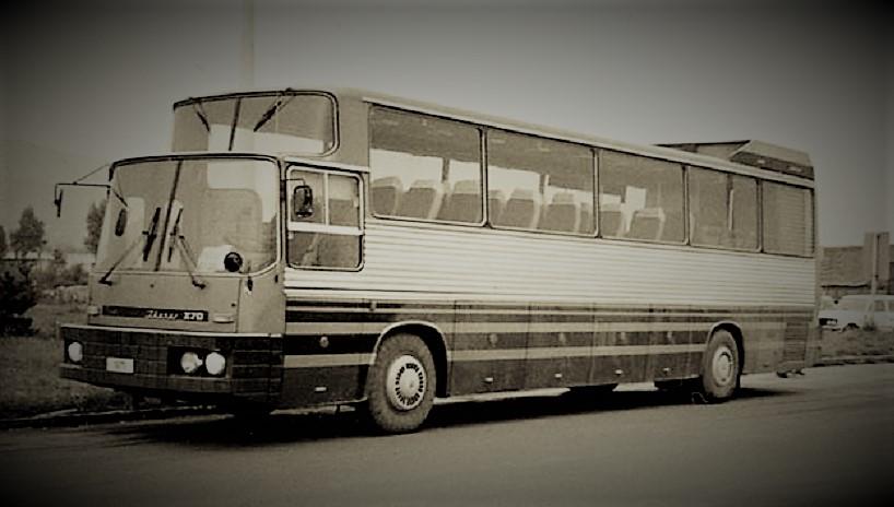 Ikarus 270 Una foto del 1975 quando fu presentato.