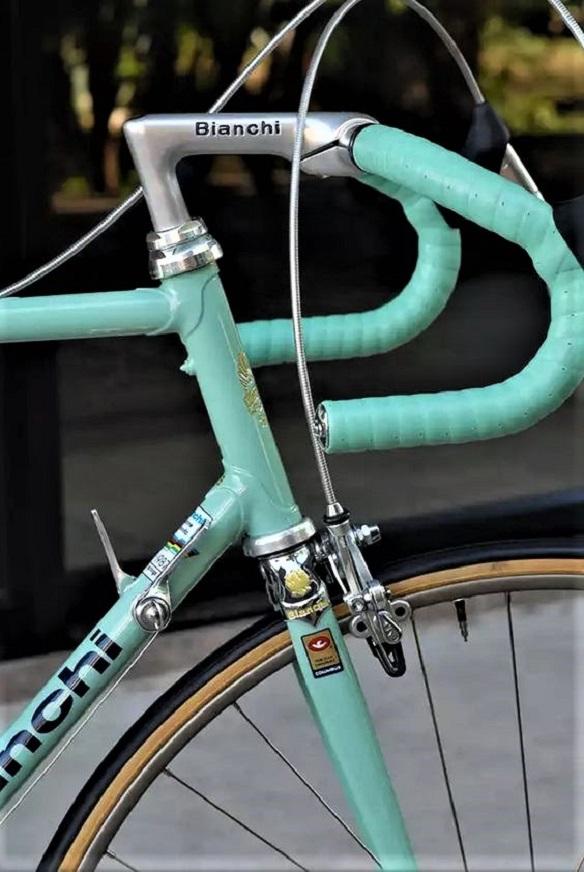 Le biciclette Bianchi Molto i dettagli e ben curati.