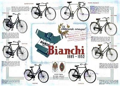 Le biciclette Bianchi