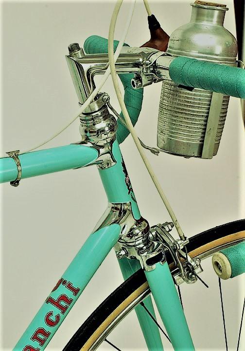 Le biciclette Bianchi Ci avevo montata la stessa borraccia.