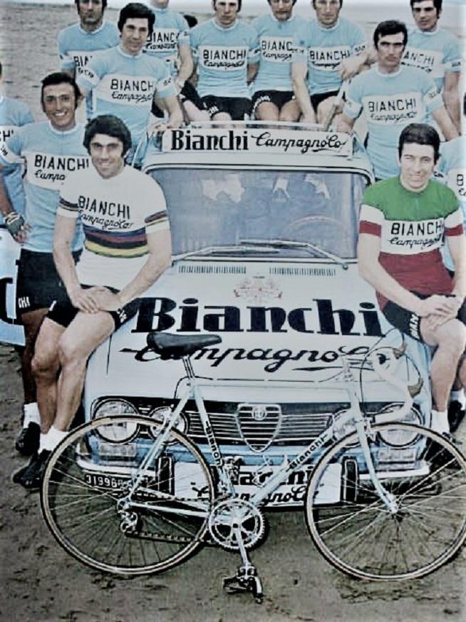 Le biciclette Bianchi Sul suo passato sportivo ne avevamo già parlato la volta precedente.