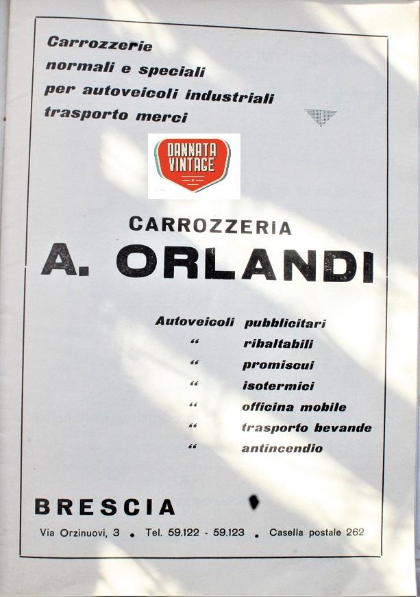 Camion vintage Ancora un'azienda bresciana.