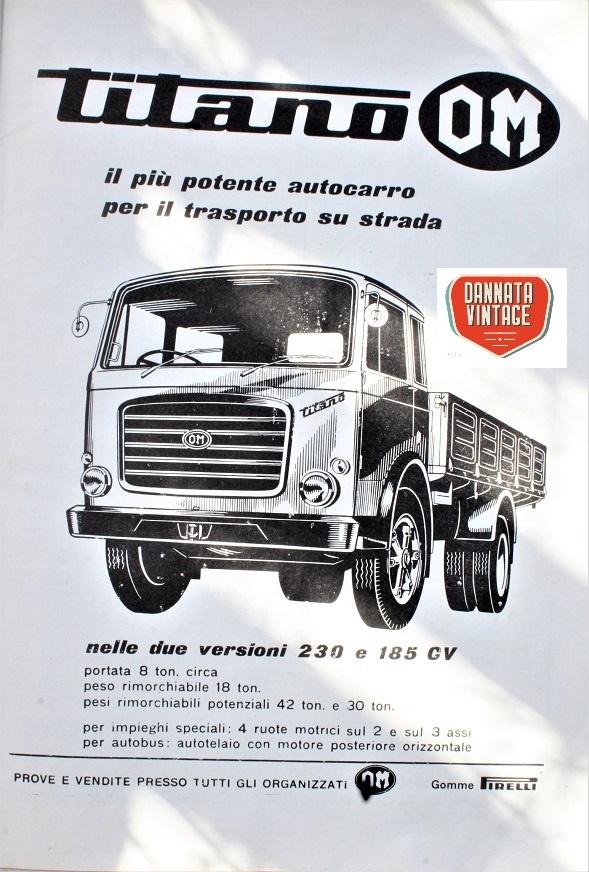 Camion vintage Non mi ritengo un esperto di mezzi pesanti, però il Titano l'ho visto e letto spesso.