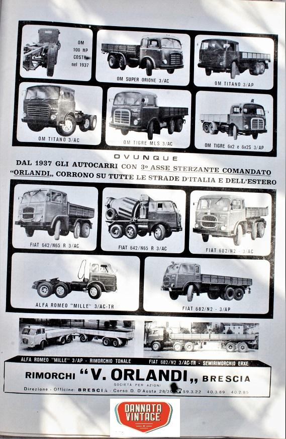 Camion vintage Da bresciano un marchio che ci ha dato lustro.