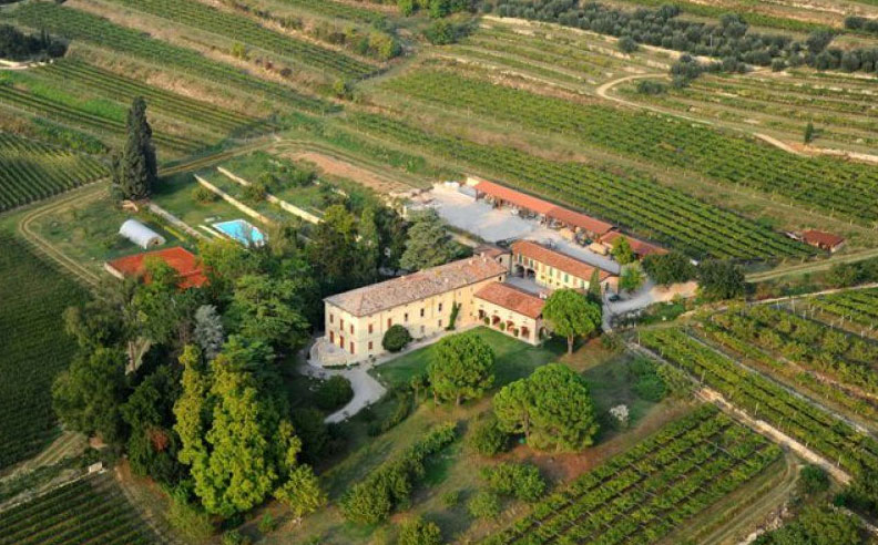 Amarone, le cantine e ville Palladiane Cantina Brigaldara.