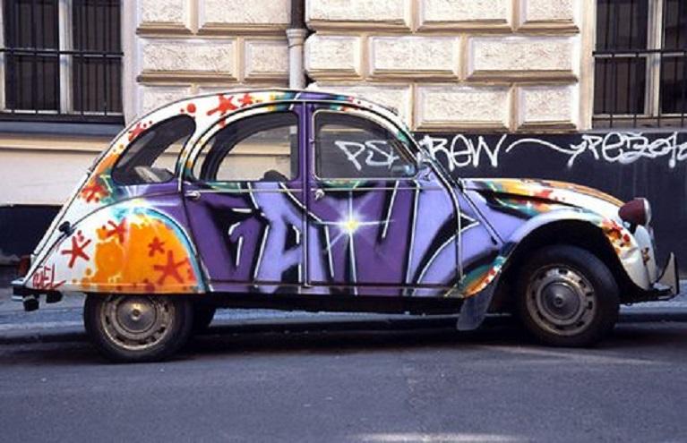 Auto e street art