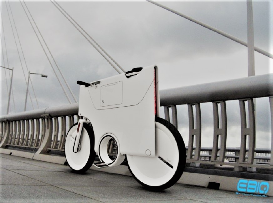 Biciclette prototype EBIQ Electric Bike.