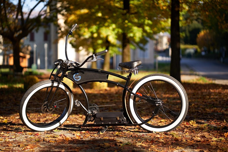 Biciclette prototype GD Design E-Bike Cool.