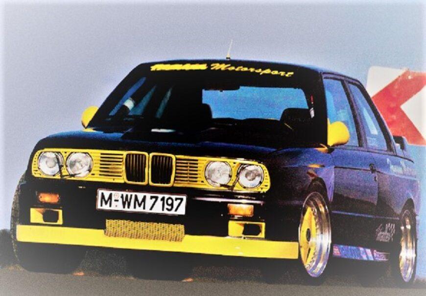 Hamann BMW Laguna Seca 3500 Turbo 1