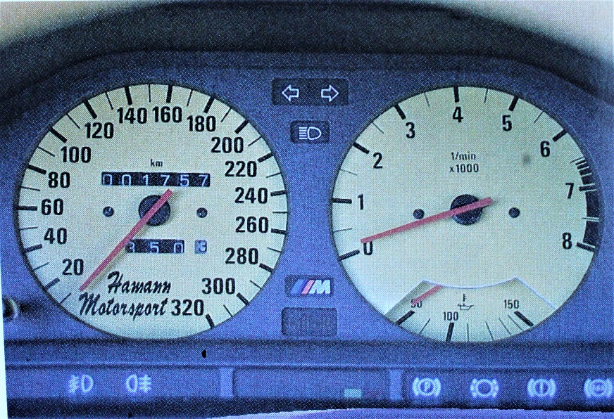 Hamann BMW Laguna Seca 3500 Turbo