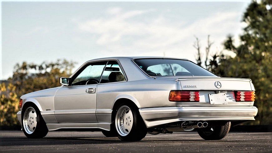 Mercedes 560 SEC AMG Dalla mia rivista pare che fosse identica a questa la versione acquistata da Sylvester Stallone.