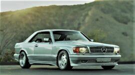 Mercedes 560 SEC AMG 2