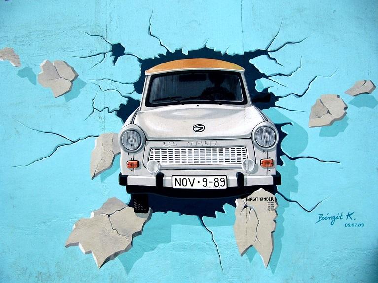Auto e street art UN WEEKEND A BERLINO.