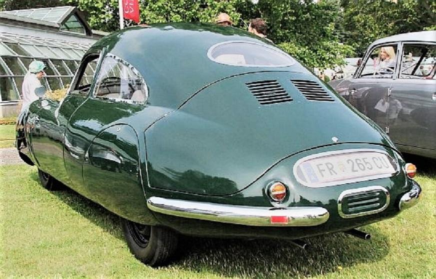 Volkhart V2 Sagitta Una coda così negli anni '40.