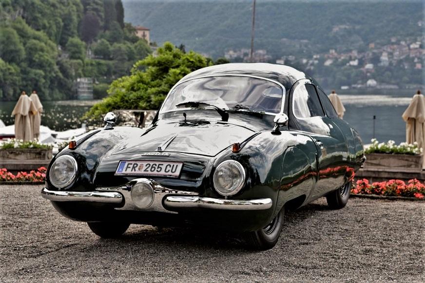 Volkhart V2 Sagitta Ottime le finiture esterne di quest'auto rimasta un prototipo.