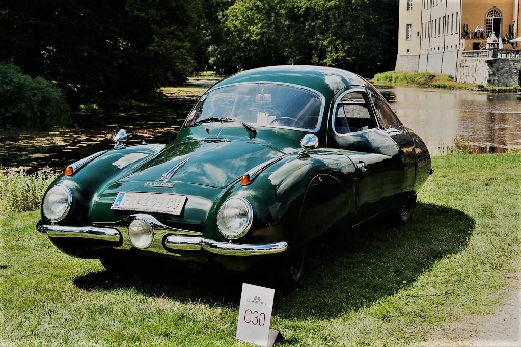 Volkhart V2 Sagitta L'auto al Concorso d'eleganza di Villa d'Este.