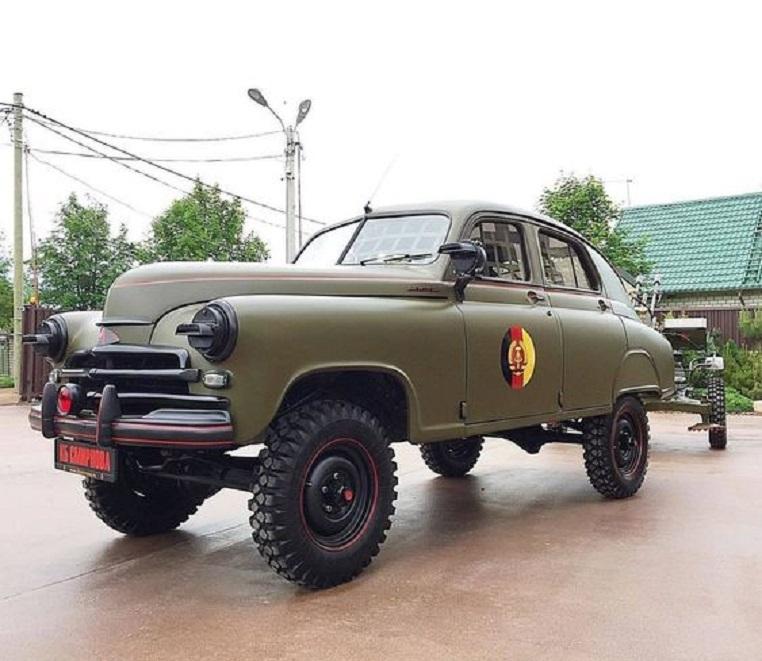 GAZ M 72 Furono diversi fra i generali e ufficiali a sceglierla per i loro spostamenti.