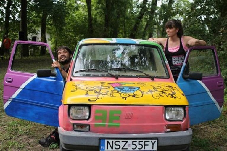 Auto e street art Arte Urbana come forma antropologica.