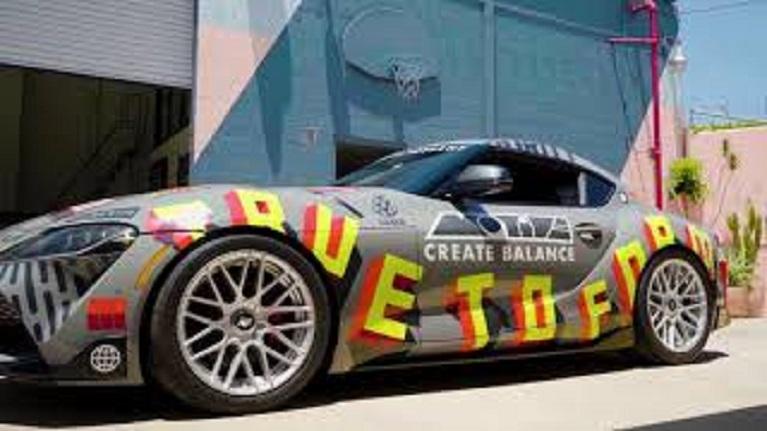 Auto e street art Toyota rivela GR Supras modificato, Tacoma per SEMA, un bel video nel LINK.