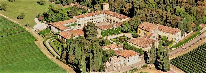 Amarone, le cantine e ville PalladianeTenuta Serego Alighieri.