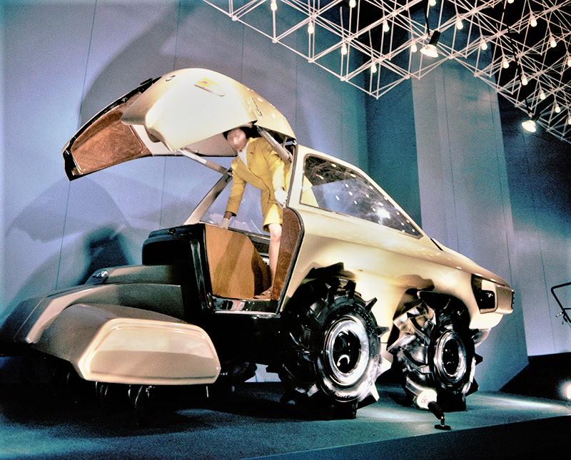 1970 Dream Tractor di Kubota
