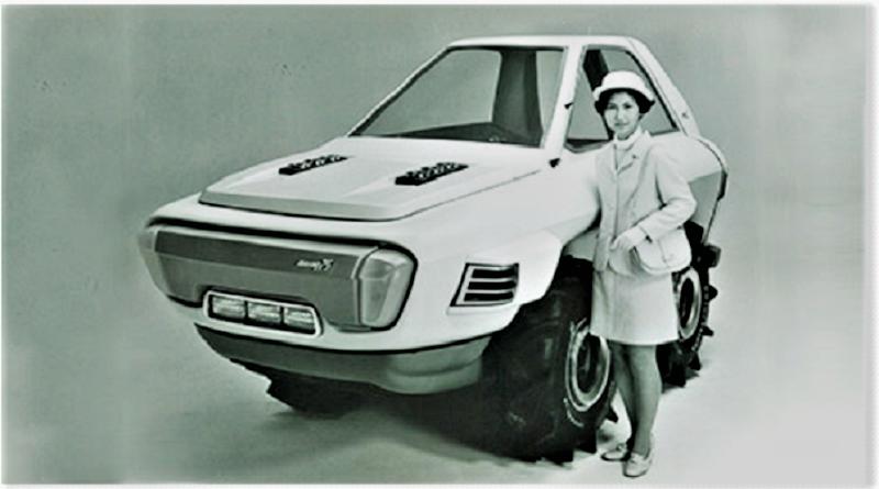 1970 Dream Tractor di Kubota 3
