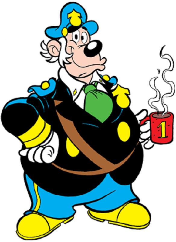 Fumetti, Il commissario Basettoni.