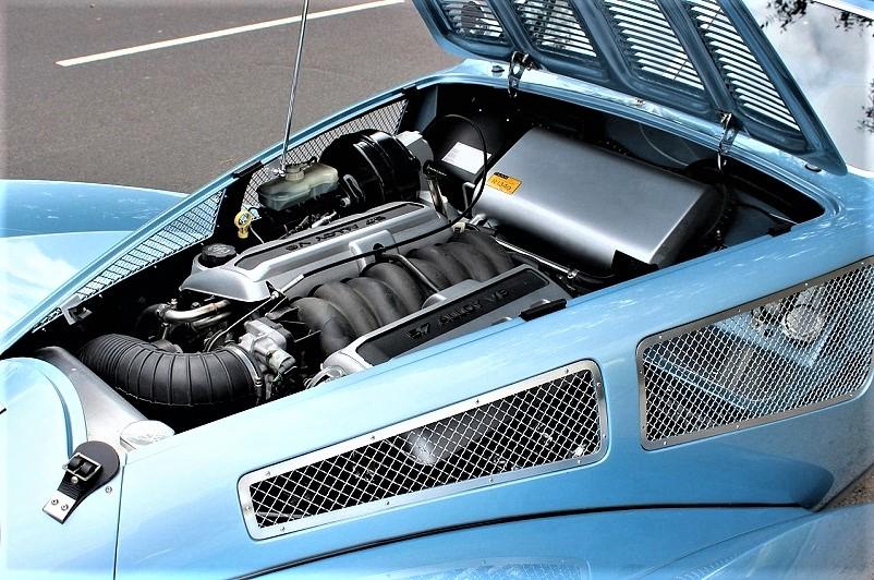 Devaux Coupe 2001, Il moderno motore Chevrolet.