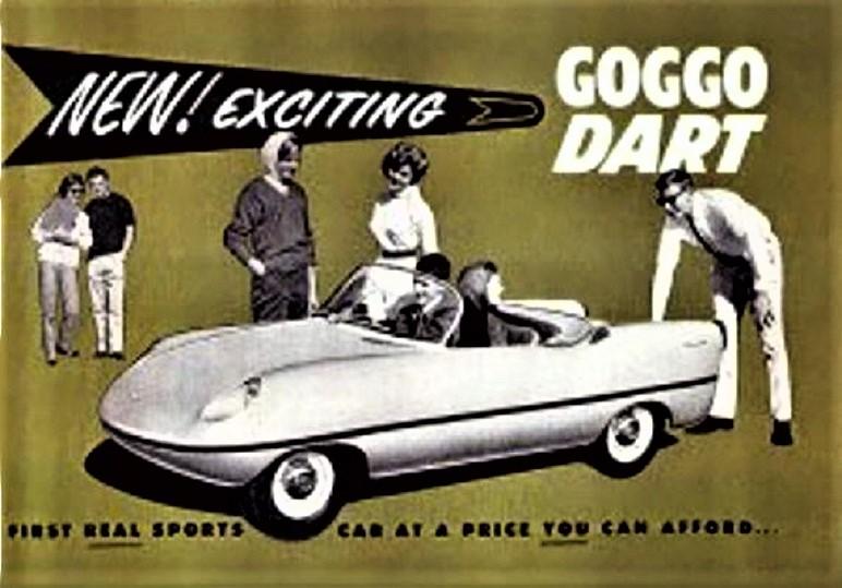 Goggomobil Dart Per spingere quella sua versione speciale di una microcar tedesca (che in Australia già in molti conoscevano e bene), non lesinò in investimenti pubblicitari, sia sulla carta stampata che con spot televisivi.