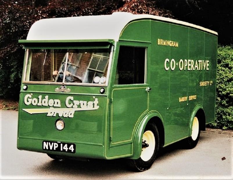 Mezzi commerciali Birmingham Electric Company Van.