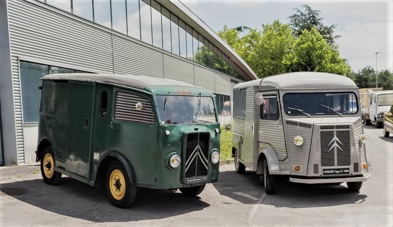 Mezzi commerciali Citroën Type H et Citroën TUB.