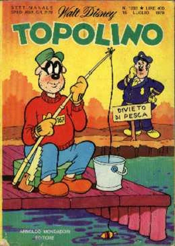 Fumetti, La Banda Bassotti, sempre vogliosa di rubare molte monete d'oro allo Zio Paperone.