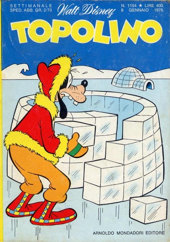 Fumetti, Pippo l'eterno amico di Topolino e fidanzato di Clarabella.