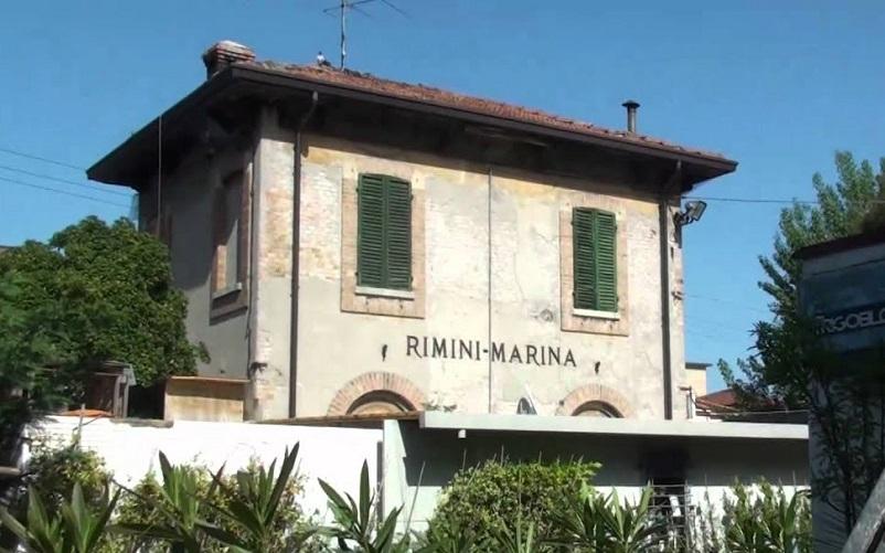 Stazioni ferroviarie dismesse, La vecchia stazione Rimini Marina diventa spazio verde e culturale della città.