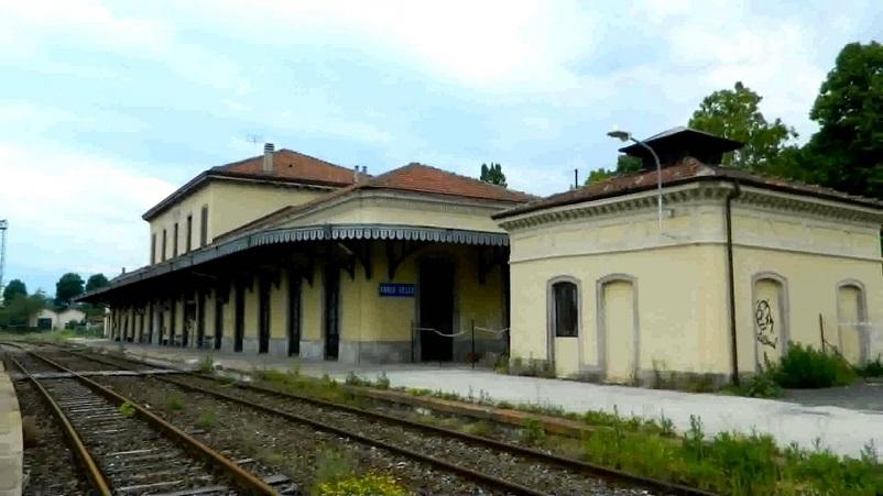 Stazioni ferroviarie dismesse, stazione ferroviaria Cuneo Gesso.