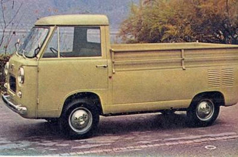 Fiat 600 T, Carrozzeria Moretti 600 T Camioncino.