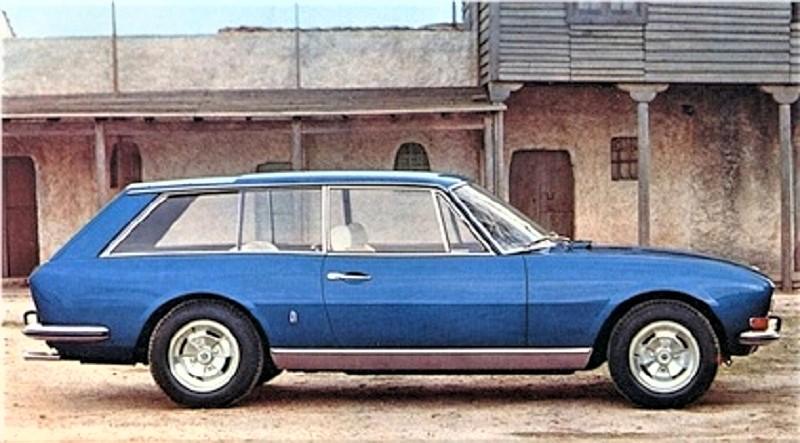 Fiat 130 Maremma 1974, Sempre disegnata da Pininfarina questa versione familiare della Peugeot 504, denominata Riviera.