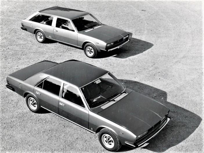 Fiat 130 Maremma 1974 Nella foto con la Fiat 130 auto già disponibile sul listino Fiat dei primi anni '70.