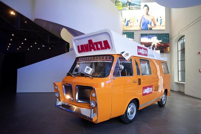 Mobilbar, Oggi visibile presso il Museo Lavazza.