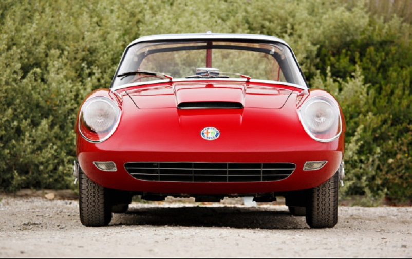Alfa Romeo 6C 3000 CM Pininfarina Superflow IV, Il muso della definitiva MKIV, molto simile a quello della versione precedente la MKIII.