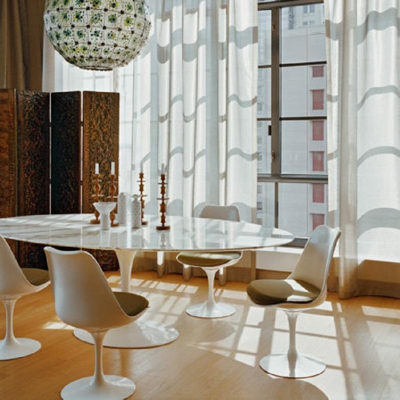 Anni 50 e il design italiano, Collezione Tulip – Eero Saarinen 1953.