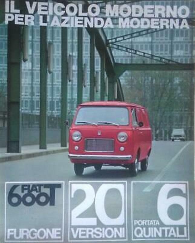 Fiat 600 T, Una brochure dell'epoca.