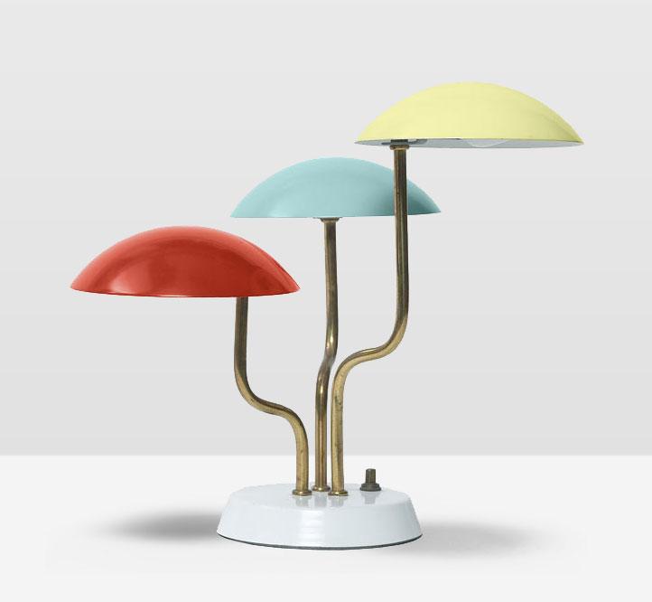 Anni 50 e il design italiano, Gino Sarfatti lampada anni 50.