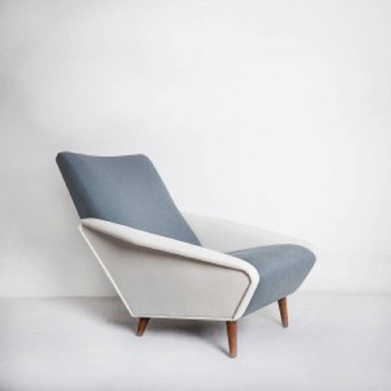 Anni 50 e il design italiano, Gio Ponti poltrona Distex 1953.