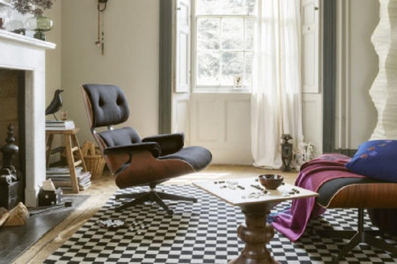 Anni 50 e il design italiano, La Lounge Chair di Charles e Ray Eames 1956.