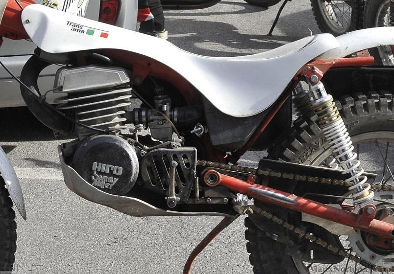 Trans Ama moto, Realizzata dal telaista Renè Maltry in stretta collaborazione con il pilota da trial Sammy Miller.