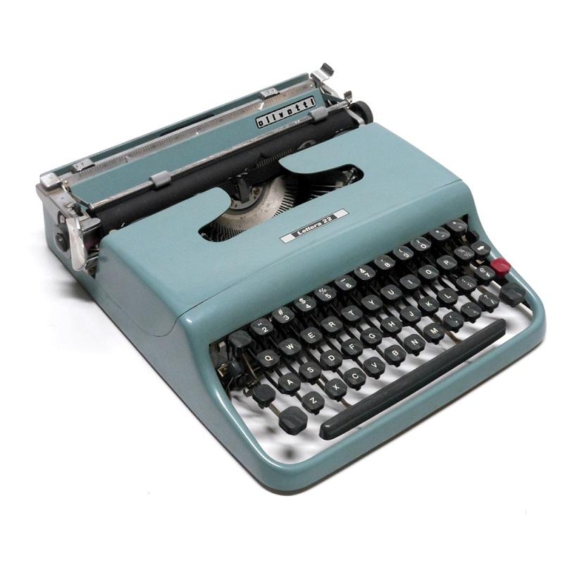Anni 50 e il design italiano. Olivetti lettera 22 Nizzoli compasso d'Oro 1954